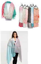 Wholesale 6 LOT Polyester Shawl Long Scarf Women scarves
