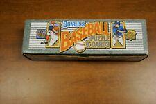 NEW MLB 1990 Dunruss Baseball Full Set Major League Baseball Cards Sealed