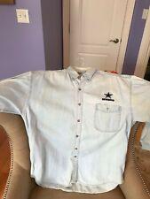 Dynasty Legends - Dallas Cowboys Long Sleeve Denim Shirt - Vintage - Men's Xl