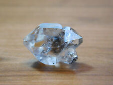 Herkimer Diamond Quartz Twinned Crystal, Water Clear NY Mineral Specimen, SALE