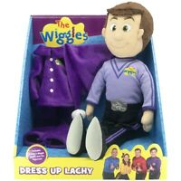 The Wiggles Dress Up Lachy | 40cm Plush Toy | Includes 2 Wiggle Outfits
