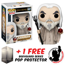 FUNKO POP LORD OF THE RINGS SARUMAN VINYL FIGURE + FREE POP PROTECTOR