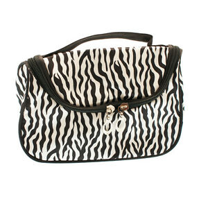 Fashionable Makeup Cosmetic/Make-up/Toiletry Bag Zebra Pattern-DL103
