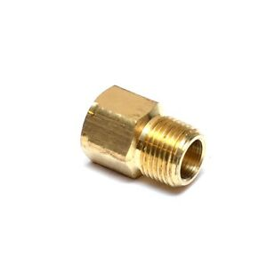 3/8 Male to Female Npt Pipe Adapter Coupling Brass Fitting Air Fuel Gas Water