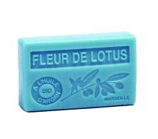 Savon parfumé Marseille huile argan bio Lotus 100g