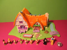 Polly pocket mini disney ♥ BLANCHE NEIGE ♥ BLANCHE NEIGE ♥ 100% COMPLET ♥ 1995 ♥