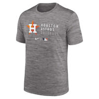 New 2021 MLB Houston Astros Nike Authentic Collection Velocity Practice T-Shirt
