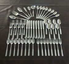 International Mark ll Colonial Scroll Stainless Flatware 53 Pieces Serving set