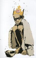 Banksy Burguer King Ed.300 Firma Impresa Ed.numerado a lapiz Spain