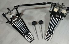 PDP by DW double bass drum pedal with 2 extra mallets !!