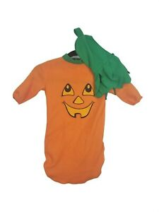 Fun World Pumpkin Bunting Infant Costume One Size Up To 25 Inches Pumpkin