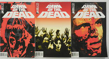 George Romero DAWN OF THE DEAD Zombie Movie COMIC SET # 1 2 3 ~ IDW ~2004 NM