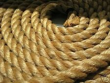 """3/4"""" X 600' 3-STRAND  MANILA ROPE IN A PULL COIL"""