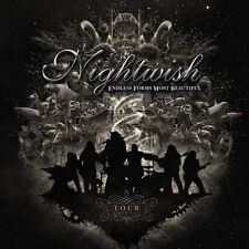 NIGHTWISH ENDLESS FORMS MOST BEAUTIFUL TOUR EDITION  CD + DVD NEW