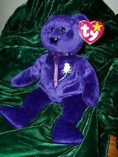 1ST. EDITION (1997) TY PRINCESS DIANA Beanie Baby RARE FLAW ON STEM  China