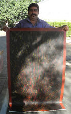 REX SULTAN - Spinifax Collectable Australian Aboriginal Artwork - 146cm x 86cm