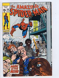 Amazing Spider-Man #99 Marvel 1971 Panic in Prison !