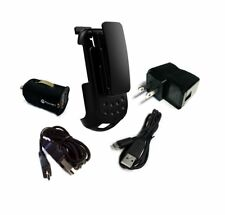 Kyocera DuraXE Holster with Clip phone models E4710 E4610 and Power Pack Combo