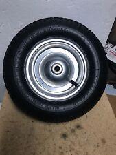"Craftsman 4.8/4.0-8"" Pneumatic Air Fill Tire On Wheel 3"" Hub 3/4"" Bearings Read"