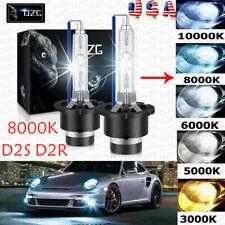 2x 8000K D2S Ice Blue D2R D2C HID Xenon Bulbs Factory Replacement Headlight Kit