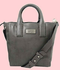 MARC Marc Jacobs Mility Cylinder Grey Utility Tote Shoulder Bag Msrp $478