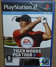 TIGER WOODS PGA TOUR GOLF 08 - SONY PLAYSTATION 2 PS2 BRAND NEW & FACTORY SEALED