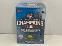 Chicago Cubs 2016 Topps World Series Champions Limited Edition Box Set, NEW!