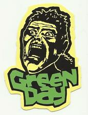 GREEN DAY scream RARE shaped CARD STICKER no longer made OOP