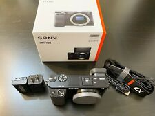 Used-Sony Alpha a6100 Mirrorless Camera - Black (Body Only) in mint condtion