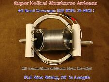 SUPER HELICAL SHORTWAVE ANTENNA! All Band! Stretch & Play!