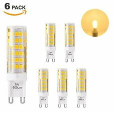 Super Bright 7W G9 GU9 Miniature LED Light Bulbs Capsule Corn Lamp Bulbs Warm Wh