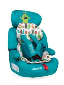 New Cosatto Zoomi group 123 anti escape car seat Monster Arcade 2 from 9 to 36kg