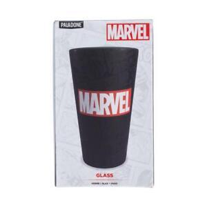 Verre à boire avec logo Marvel Comics noir capacité 400 ml