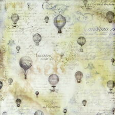 Rice paper Decoupage Scrapbooking Sheets Texture Baloon