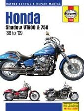 HAYNES SERVICE MANUAL HONDA SHADOW VT750C AERO 2004-2009 & VT75C SPIRIT 2007-09