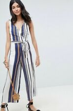 Asos Parisian Tall Stripe Cami Jumpsuit
