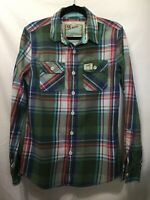 The Real Superdry & Co. Lumberjack Twill Shirt Plaid Flannel Long Sleeve Men's M