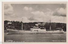 S.S. Bifrost, Stockholms Rederi A/B Svea. Shipping RP Postcard, B556