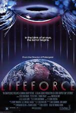 LIFEFORCE Mathilda May Sci-Fi Original Single Sided 27x41 Movie Poster 1985