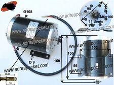 Moteur électrique 1000W 36V type 2 Trottinette / Pocket Quad