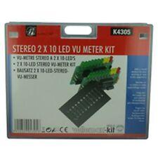 STEREO VU METER KIT-Velleman Electronics KIT K4305
