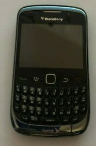 Lot of 7 Blackberry 9330 Curve Sprint Black Cell Phone Fast Ship Parts Vintage