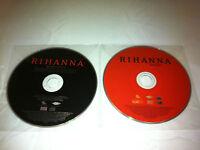 Rihanna Good Girl Gone Bad Music CD + Bonus Reloaded DVD - DISCS ONLY in Sleeves