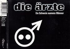 DIE ÄRZTE : EIN SCHWEIN NAMENS MÄNNER / 5 TRACK-CD - TOP-ZUSTAND