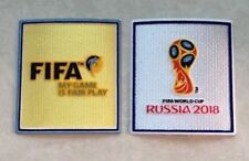 Set Of Velet FIFA 2018 Russia World Cup Patch Badge Pièce Parche Remendo Flicken