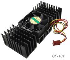 Pentium II Ball Bearing CPU Cooling Fan w/ Heat Sink - CF-101