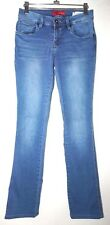 GUESS Vintage Size 26 Womens Light Wash Med Rise Slim Bod Bootcut Jeans Pants