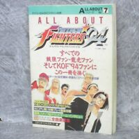 KING OF FIGHTERS 94 All About 7 Guide Japan Neo Geo Book Neo 1994 DP