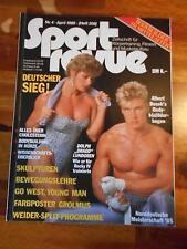 SPORT REVUE bodybuilding muscle magazine DOLPH LUNDGREN 4-86