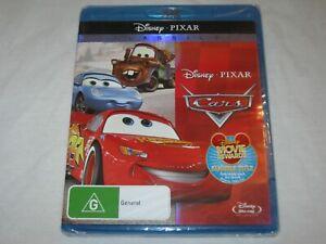Cars - Disney - Pixar - Brand New & Sealed - Region A, B, C - Blu Ray